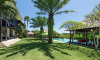 Gardens and Pool at Day Time - Villa Bendega Nui - Canggu, Bali