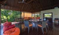 Living and Dining Area - Villa Bendega Nui - Canggu, Bali