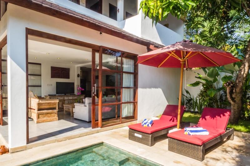 Sun Beds - Villa Bewa - Seminyak, Bali