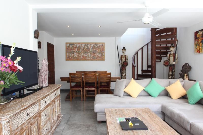 Living and Dining Area - Villa Bewa - Seminyak, Bali