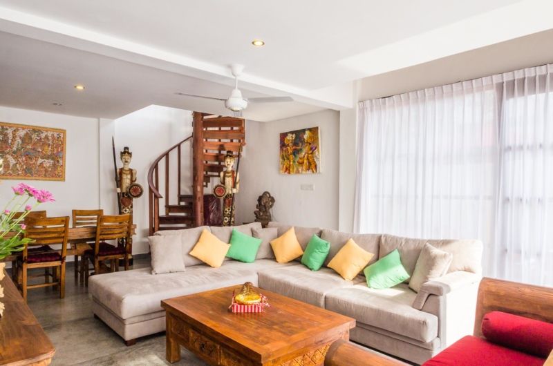 Indoor Living and Dining Area - Villa Bewa - Seminyak, Bali