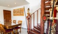 Dining Area with Up Stairs - Villa Bewa - Seminyak, Bali