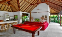 Living Area with Billiard Table - Villa Bibi - Kerobokan, Bali