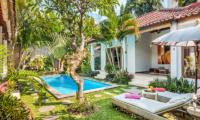 Gardens and Pool - Villa Bisi - Seminyak, Bali