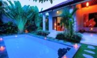 Pool at Night - Villa Bisi - Seminyak, Bali