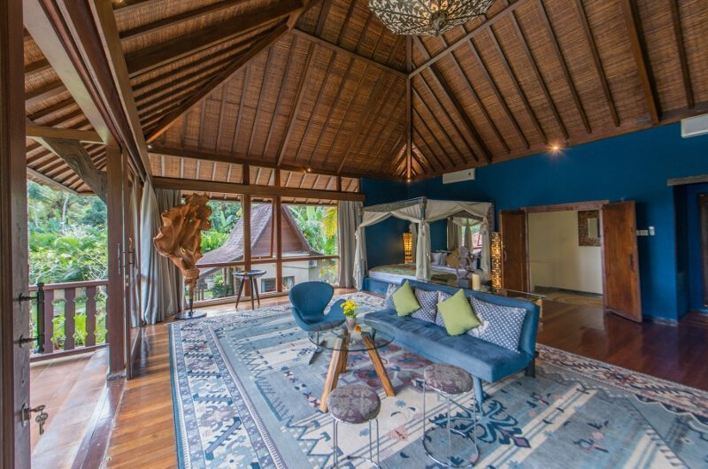 Spacious Bedroom with Sofa - Villa Bodhi - Ubud, Bali