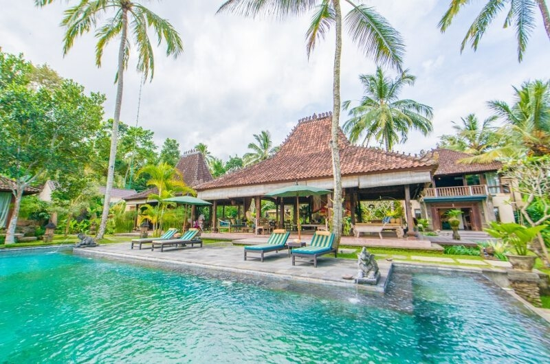 Gardens and Pool - Villa Bodhi - Ubud, Bali