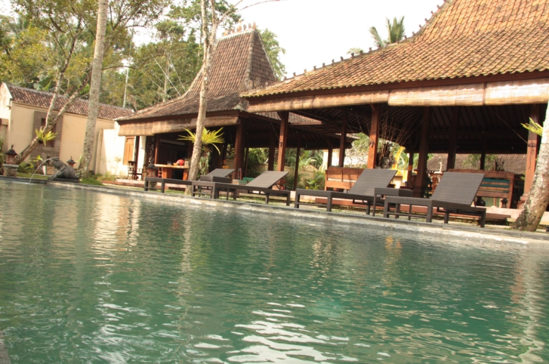 Pool Side Loungers - Villa Bodhi - Ubud, Bali