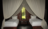 Twin Bedroom with View - Villa Bodhi - Ubud, Bali