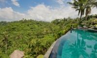 Pool with View - Villa Bukit Naga - Ubud, Bali