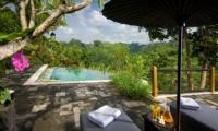 Sun Beds - Villa Bukit Naga - Ubud, Bali