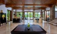 Living and Dining Area - Villa Bukit Naga - Ubud, Bali