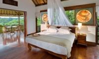 Bedroom and Balcony - Villa Bukit Naga - Ubud, Bali