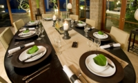 Dining Area with Pool View - Villa Bukit Naga - Ubud, Bali