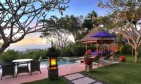 Pool Side Dining - Villa Bulan Madu - Uluwatu, Bali