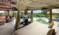 Bedroom with Pool View - Villa Bulan Madu - Uluwatu, Bali