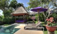 Pool Side Loungers with View - Villa Bulan Madu - Uluwatu, Bali