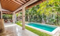 Gardens and Pool - Villa Can Barca - Seminyak, Bali
