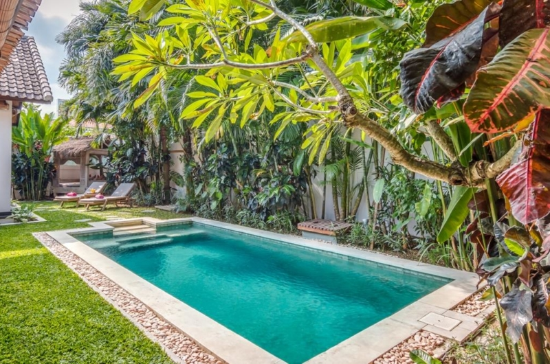 Pool Side Loungers - Villa Can Barca - Seminyak, Bali