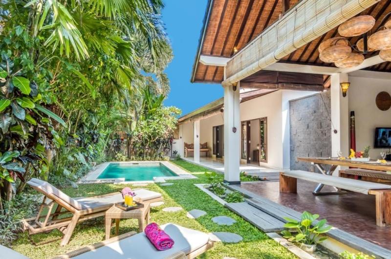Reclining Sun Loungers - Villa Can Barca - Seminyak, Bali