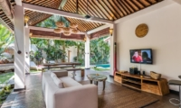 Living Area with TV - Villa Can Barca - Seminyak, Bali