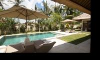 Sun Beds - Villa Candi Kecil - Ubud, Bali