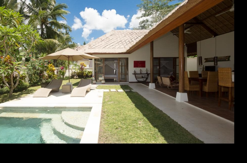 Pool Side - Villa Candi Kecil - Ubud, Bali