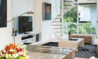 Lounge Area with TV - Villa Canggu - Canggu, Bali