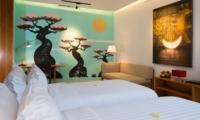 Twin Bedroom with Sofa - Villa Canggu - Canggu, Bali