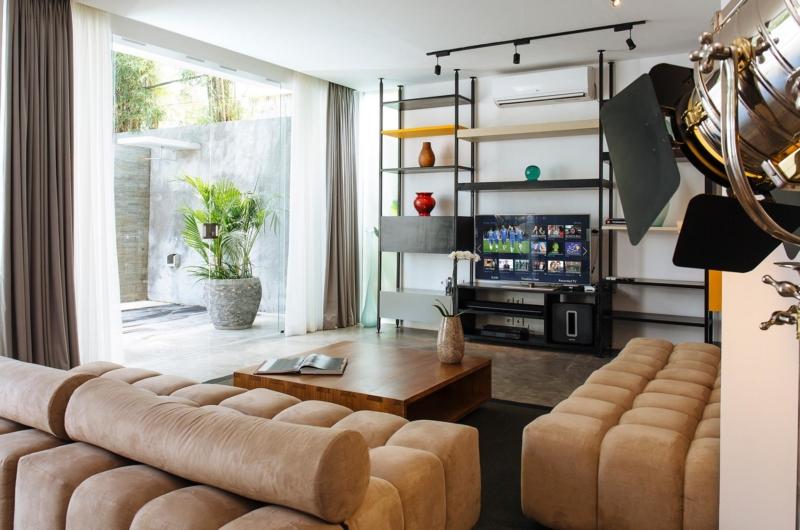 Living Area with TV - Villa Canggu North - Canggu, Bali