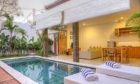 Reclining Sun Loungers - Villa Canish - Seminyak, Bali