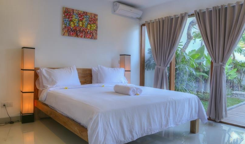 Bedroom with View - Villa Canish - Seminyak, Bali