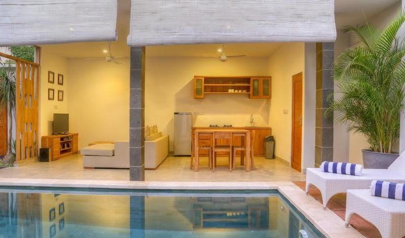 Pool Side Loungers - Villa Canish - Seminyak, Bali