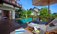 Pool Side Loungers - Villa Cantik Ungasan - Uluwatu, Bali