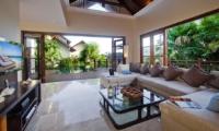 Living Area with Pool View - Villa Cantik Ungasan - Uluwatu, Bali