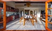 Kitchen and Dining Area - Villa Cantik Ungasan - Uluwatu, Bali