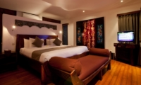 Bedroom with TV - Villa Casis - Sanur, Bali
