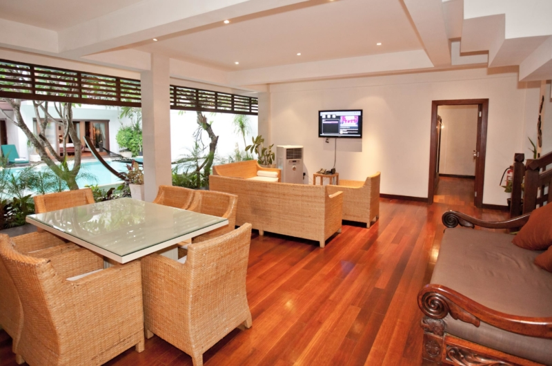 Living and Dining Area - Villa Casis - Sanur, Bali