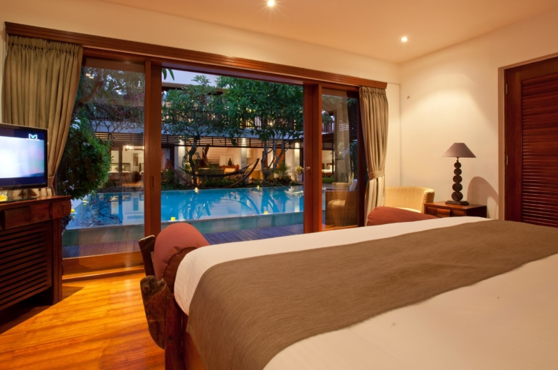 Bedroom with Pool View - Villa Casis - Sanur, Bali