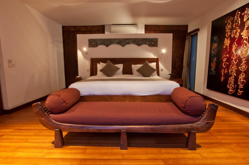 Bedroom with King Size Bed - Villa Casis - Sanur, Bali