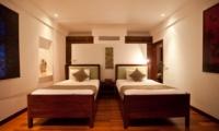 Twin Bedroom - Villa Casis - Sanur, Bali