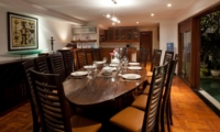 Dining Area at Night - Villa Casis - Sanur, Bali