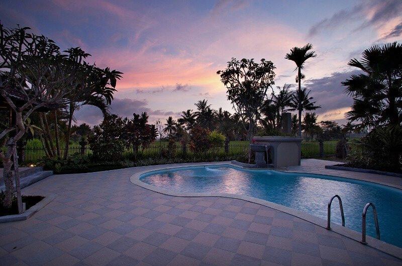 Pool Side - Villa Cemadik - Ubud, Bali