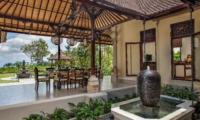 Dining Area with View - Villa Cemadik - Ubud, Bali