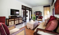 Family Area with TV - Villa Cemadik - Ubud, Bali