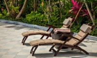 Sun Beds - Villa Cemadik - Ubud, Bali