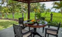 Outdoor Dining - Villa Cemadik - Ubud, Bali