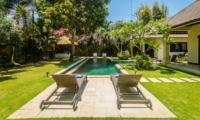 Sun Beds - Villa Cemara - Seminyak, Bali