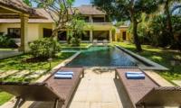 Reclining Sun Loungers - Villa Cemara - Seminyak, Bali