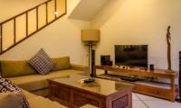 Lounge Area with TV - Villa Cemara - Seminyak, Bali